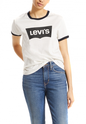 (w) T-Shirt Levi's® Perfect Ringer