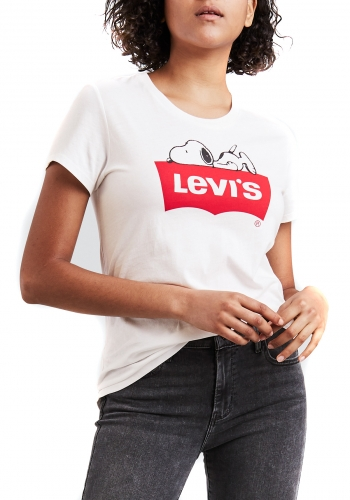 (w) T-Shirt Levi's® The Perfect Tee Snoopy