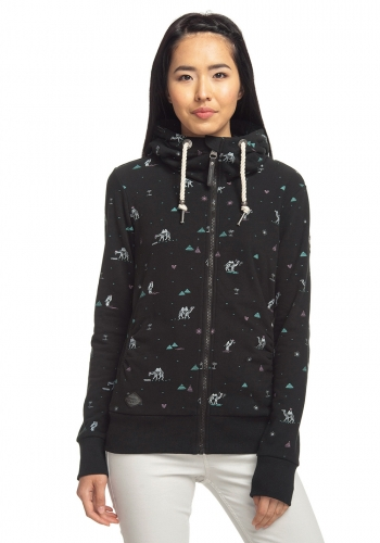 (w) Zip Hooded Ragwear Angel