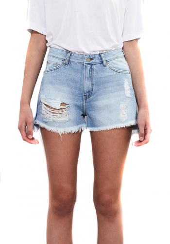 (w) Short Dr. Denim Vega