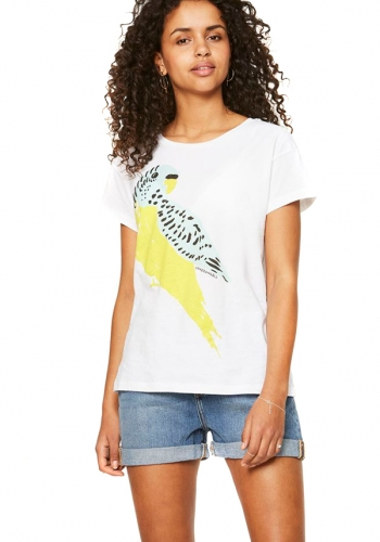 (w) T-Shirt Armedangels Nela Love Bird