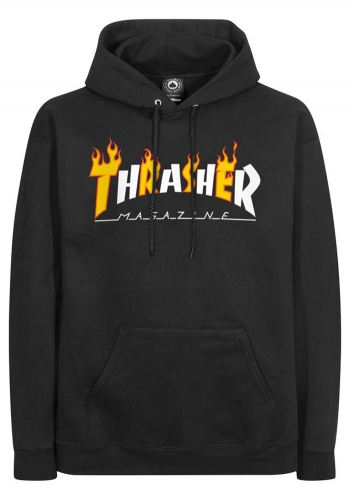 Hooded Thrasher Flame Mag