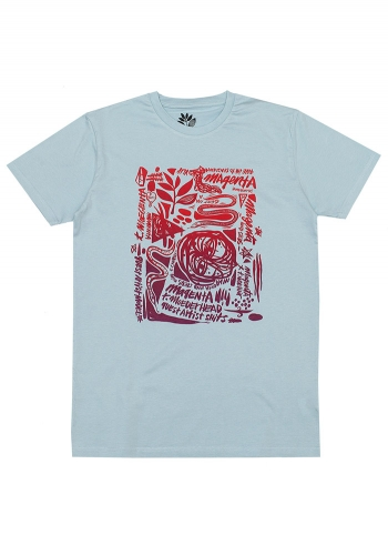 T-Shirt Magenta Thomas Campbell