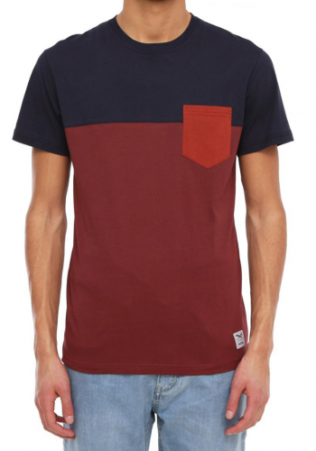 T-Shirt Iriedaily Block Pocket 2