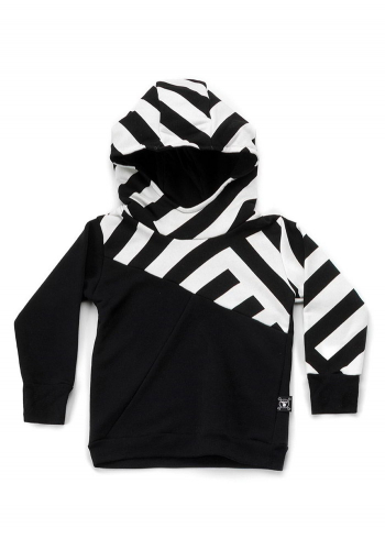(y) Hooded Nununu Part Striped