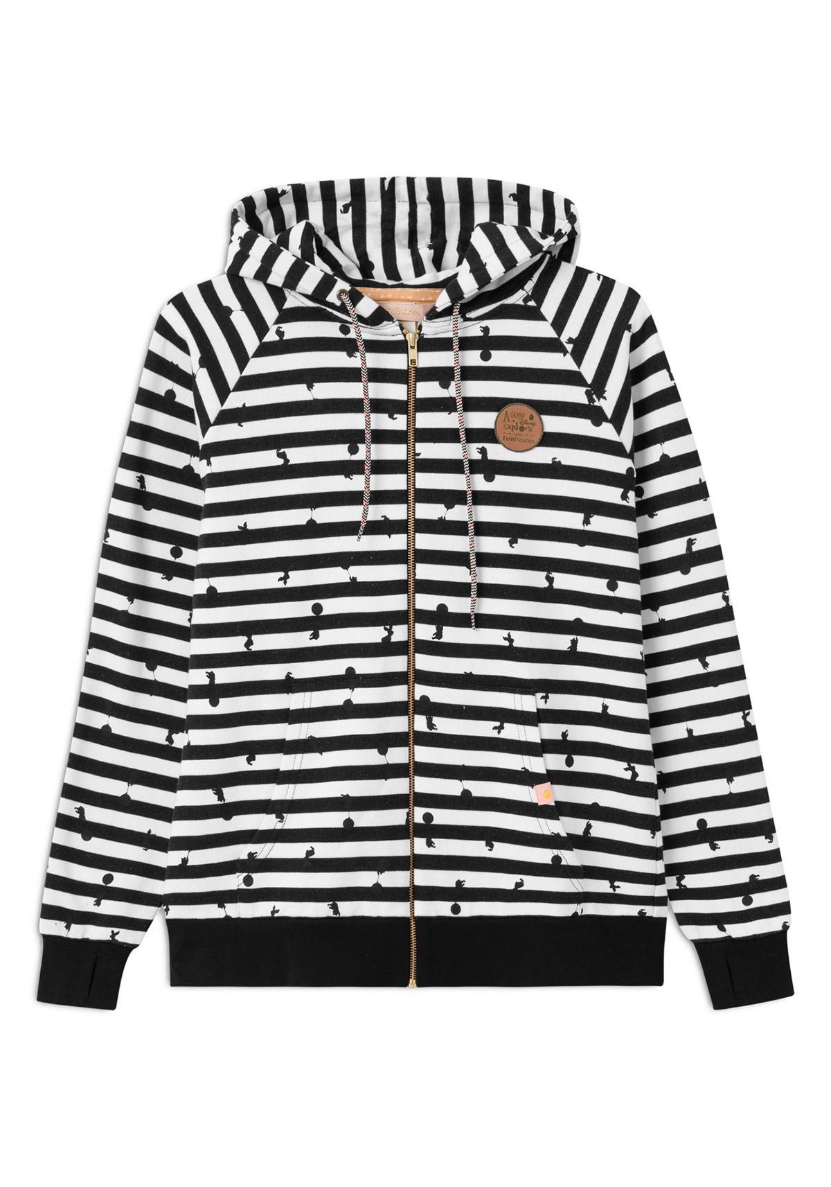 w) Zip Hooded FemiStories x Disney Zebra