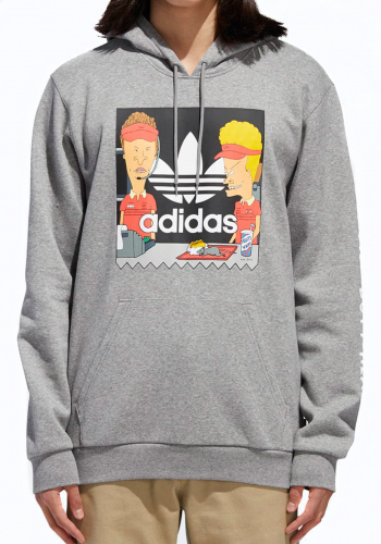 Hooded Adidas x Beavis and Butthead