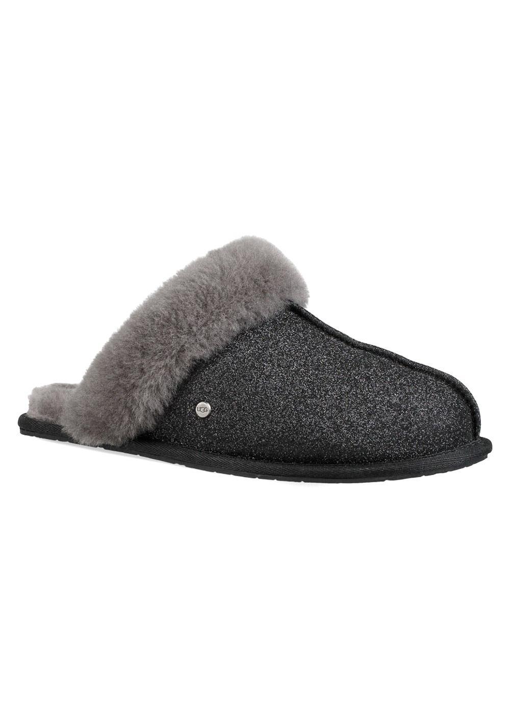w) Sandale UGG Scuffette II Sparkle Größe: 39 Farbe: Schwarz
