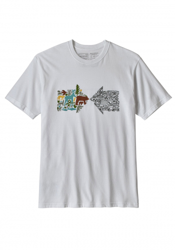 T-Shirt Patagonia Real Riches Responsibili-Tee
