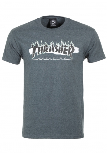 T-Shirt Thrasher Ripped