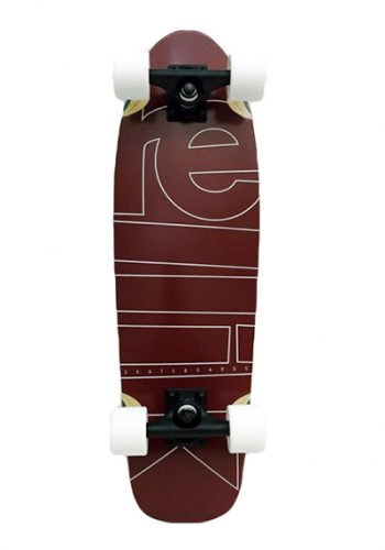 Komplett Cruiser Rellik Logo Darkred 8.25