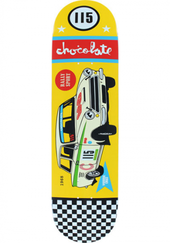 Deck Chocolate Cruz Rally Car 8.125