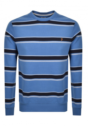 Sweat Farah Beck Crew Stripe