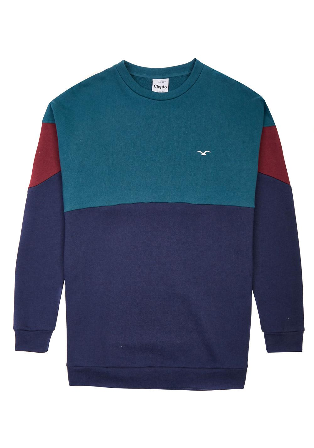 Sweat Cleptomanicx Drop 91 - Größe: L - Farbe: Multicolor