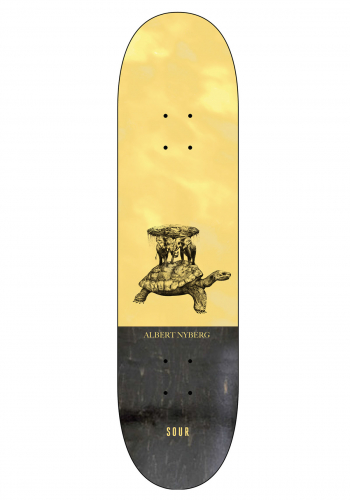 Deck Sour Albert Flat Turtle 8.25