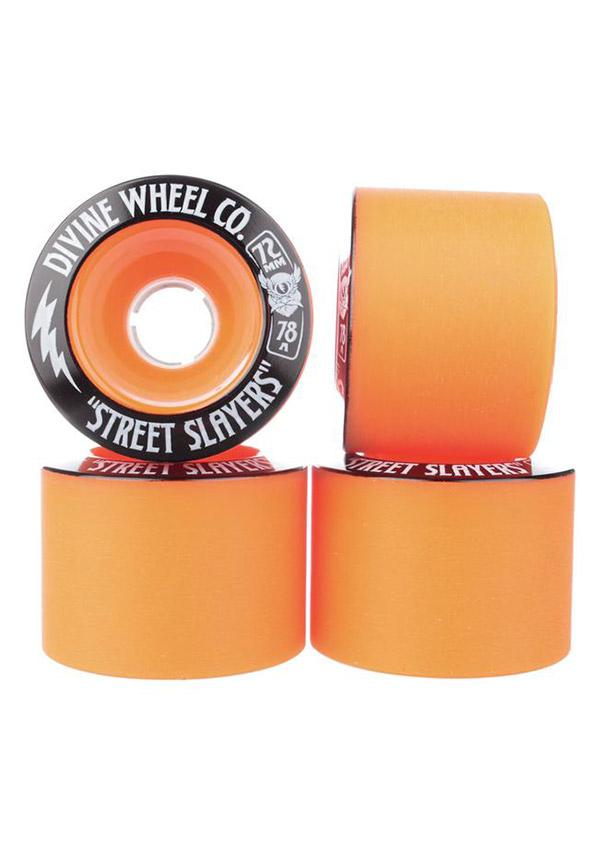 Rolle Divine Street Slayers III orange 72mm