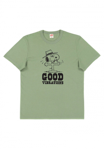 T-Shirt TSPTR Peanuts Good Vibrations