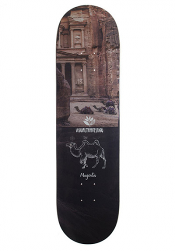 Deck Magenta Visual Travelling Collab 8.125