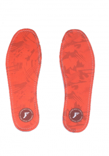 Einlegesohle Footprint Flat camo red