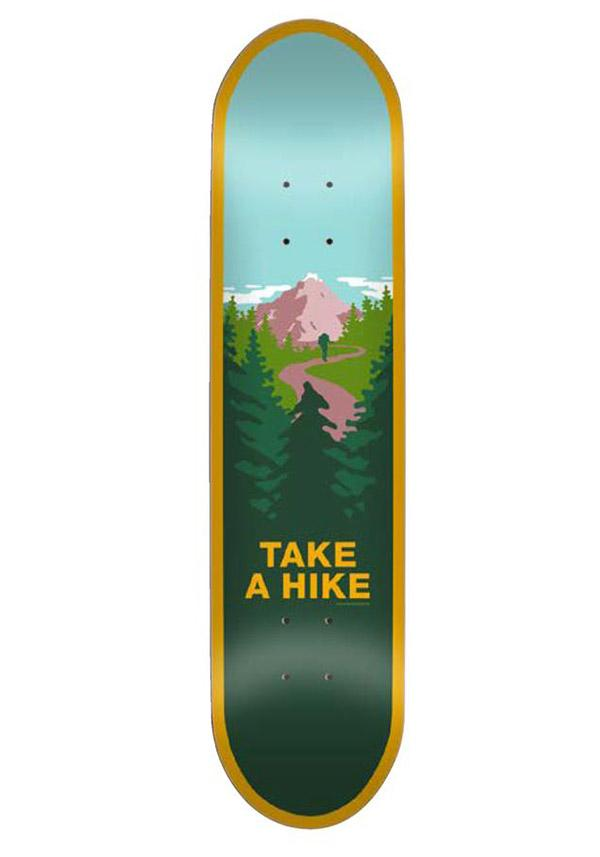 Deck Skate Mental Take A Hike 8.5