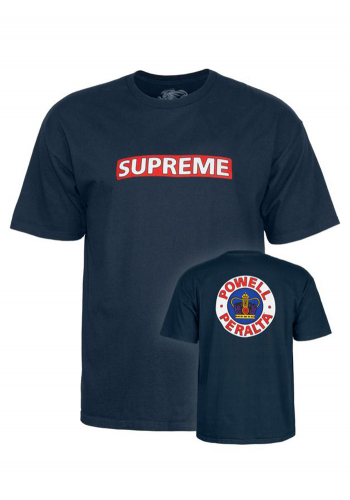 T-Shirt Powell Peralta Supreme navy