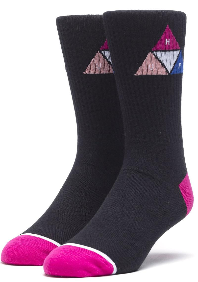 Socken Huf Prism Triangle Black