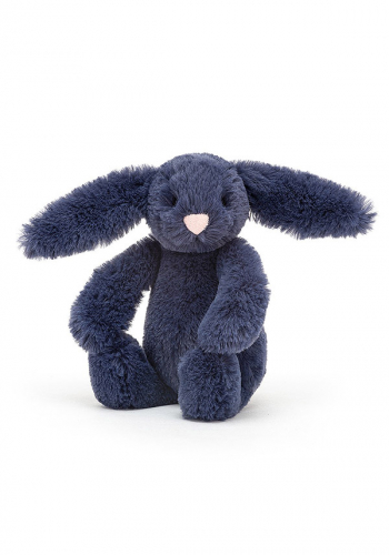 Jellycat Bashful Navy Bunny tiny