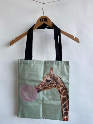 (w) Shoppingbag Giraffe
