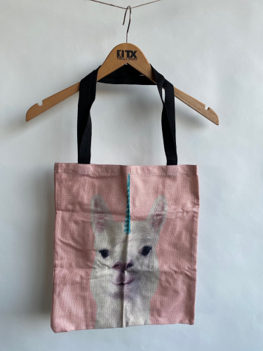 (w) Shoppingbag Lama