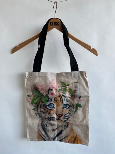(w) Shoppingbag Tiger
