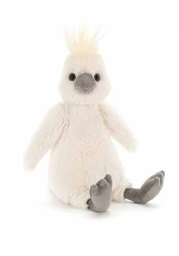 Jellycat Bashful Cockatoo small