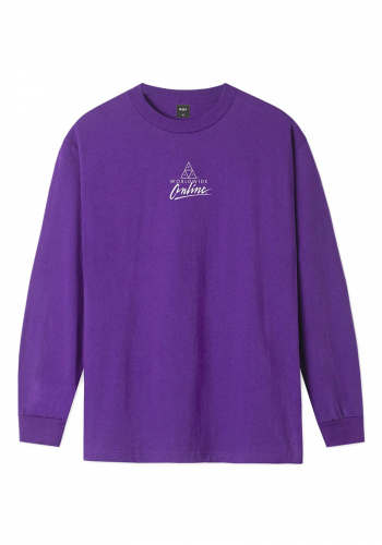 Longsleeve HUF Forbidden Domain grape
