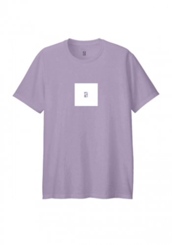 T-Shirt Poetic Collective Box purple