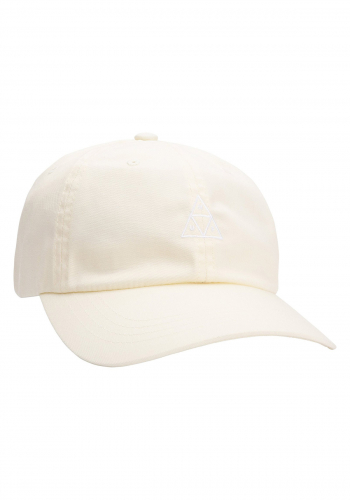 Cap HUF Triple Triangle Curved Visor off white