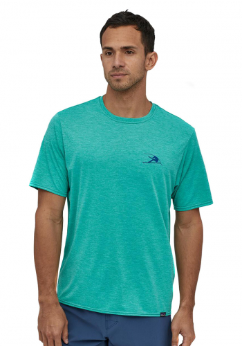T-Shirt Patagonia Capilene Cool Daily Graphic green