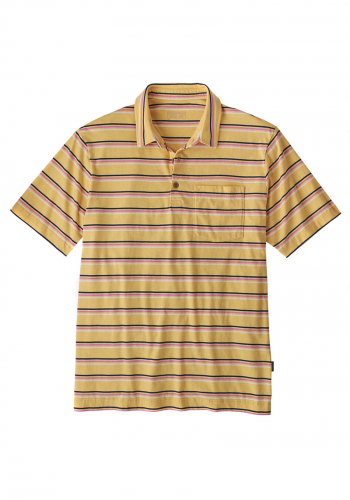 Polo Patagonia Lightweight Organic yellow