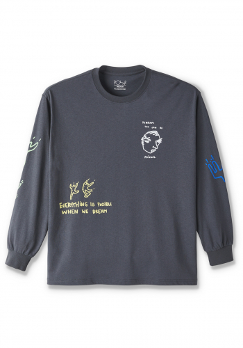 Longsleeve Polar Notebook graphite