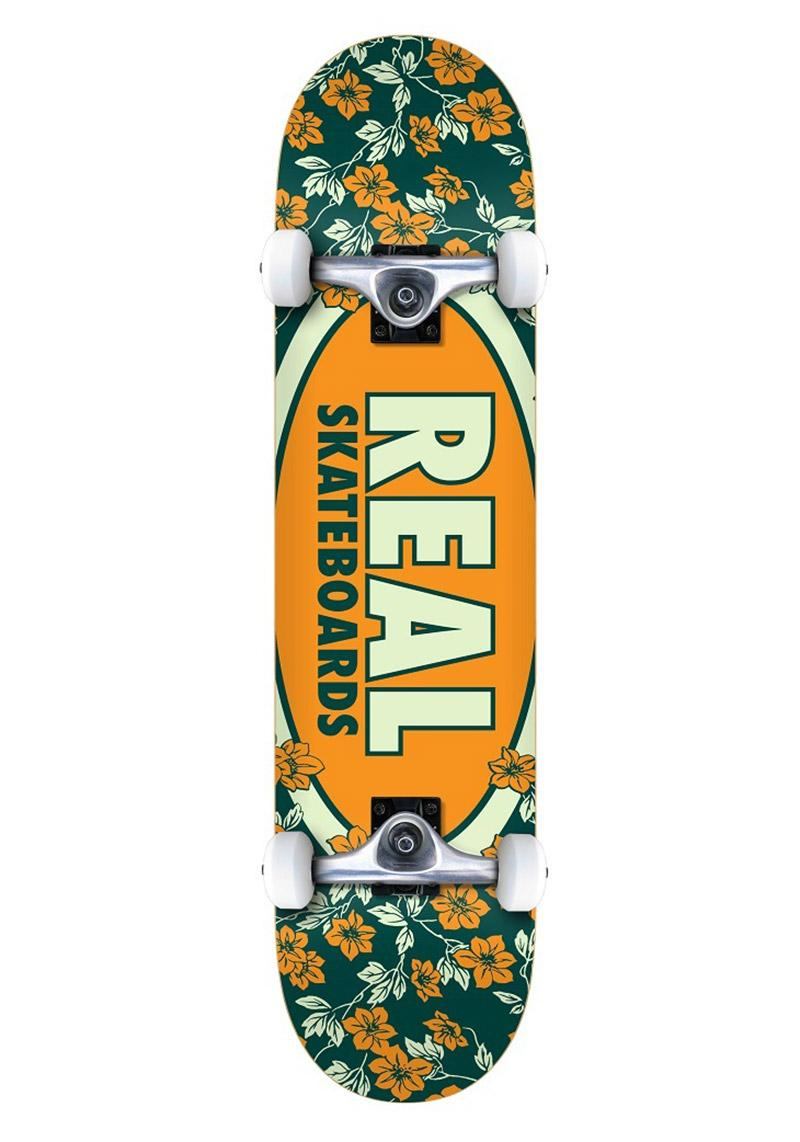 Komplettboard Real Team Oval Blossoms 7.3