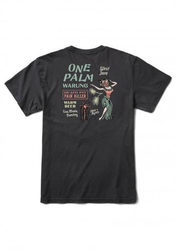 T-Shirt Roark One Palm Warung black