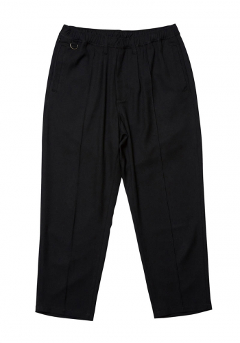 Pant Evisen Pin Tuck Slacks black