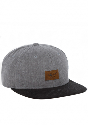 Cap Reell Suede Cap washed brown