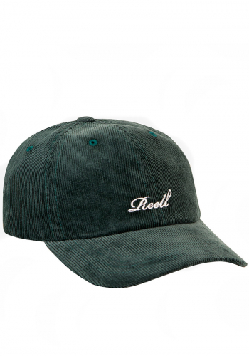 Cap Reell Single Script Cap dark green ribcord