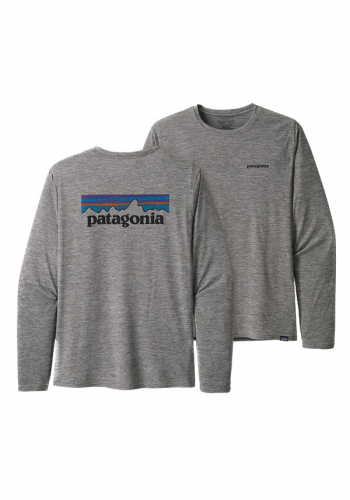 Longsleeve Patagonia Capilene Cool feather grey