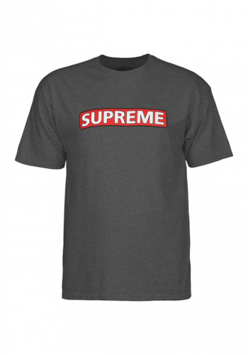 T-Shirt Powell Peralta Supreme charcoal