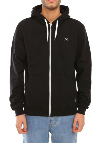 Zip Hooded Iriedaily Mini Flag 2 black