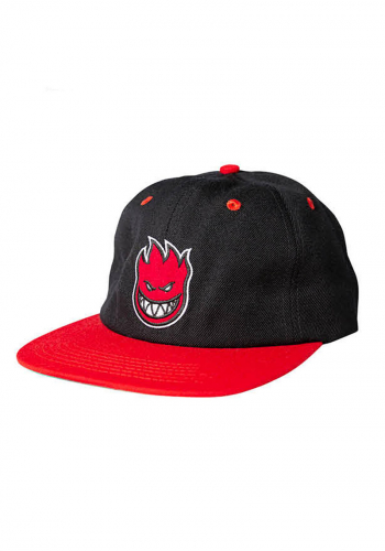 Cap Spitfire Bighead Fill black/red