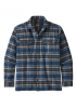 Hemd l/s Patagonia Fjord Flannel navy
