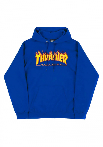 Hooded Thrasher Flame royal