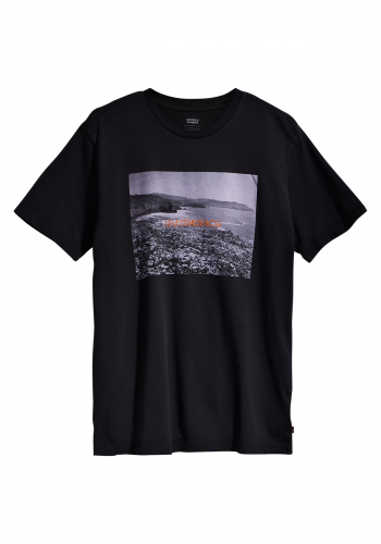 T-Shirt Levi's® Graphic Garment Dye Jet black