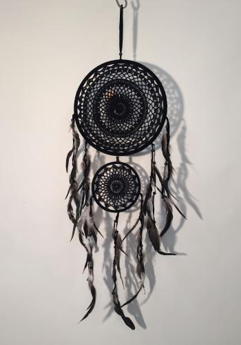 Dreamcatcher Large Double schwarz